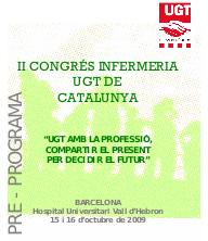 PRE PROGRAMA II CONGRES INFERMERIA UGT DE CATALUNYA