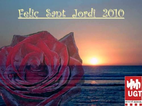 Feliç Sant Jordi 2010